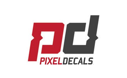 Sponsor pixel Decals